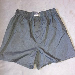 Grey boxers size small